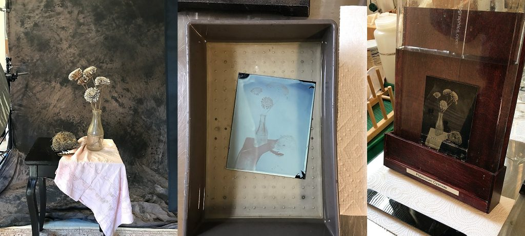 Some of the wet-plate collodion process of a still life