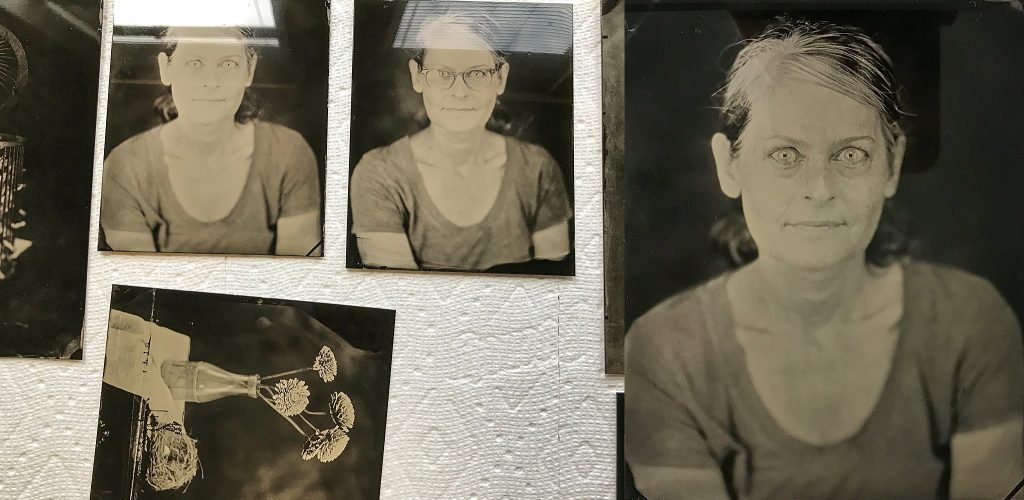 Tintypes of Maundy Mitchell by Gary Samson