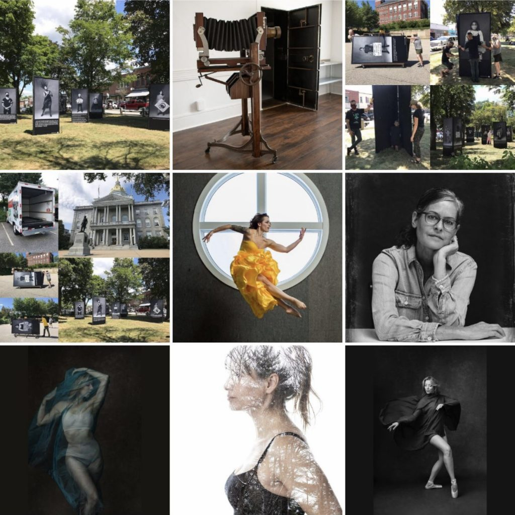 Maundy Mitchell's 2020 Top Nine most popular images on Instagram