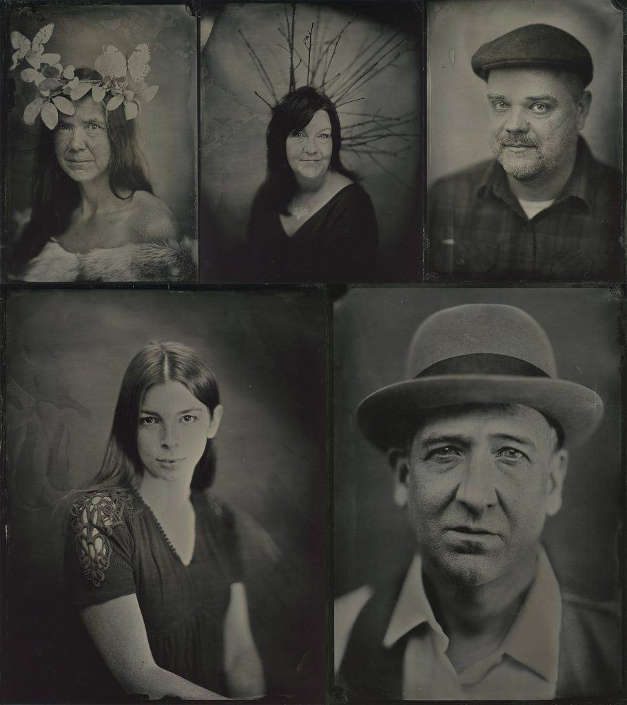 Tintype portraits by Maundy Mitchell in Plymouth, NH