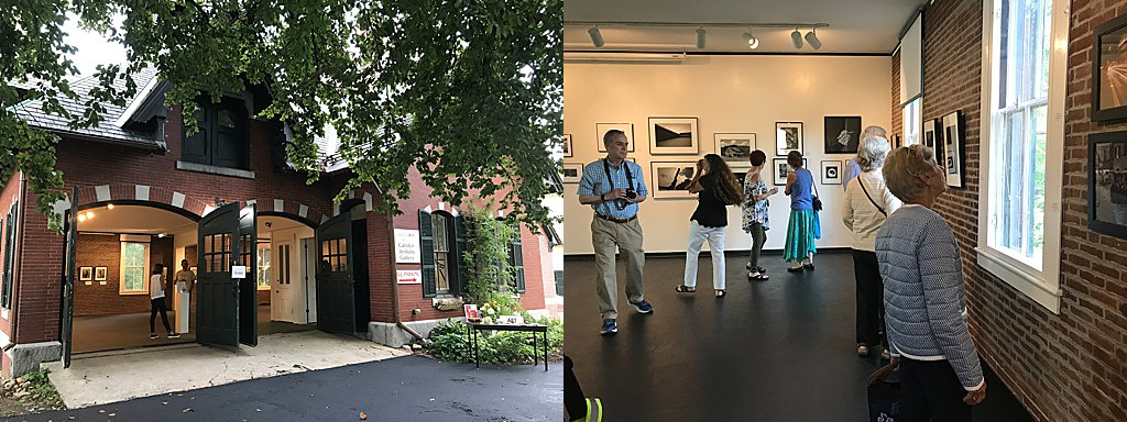 The Carriage House at Kimball Jenkins School of Art / NHSPA Members' Exhibition