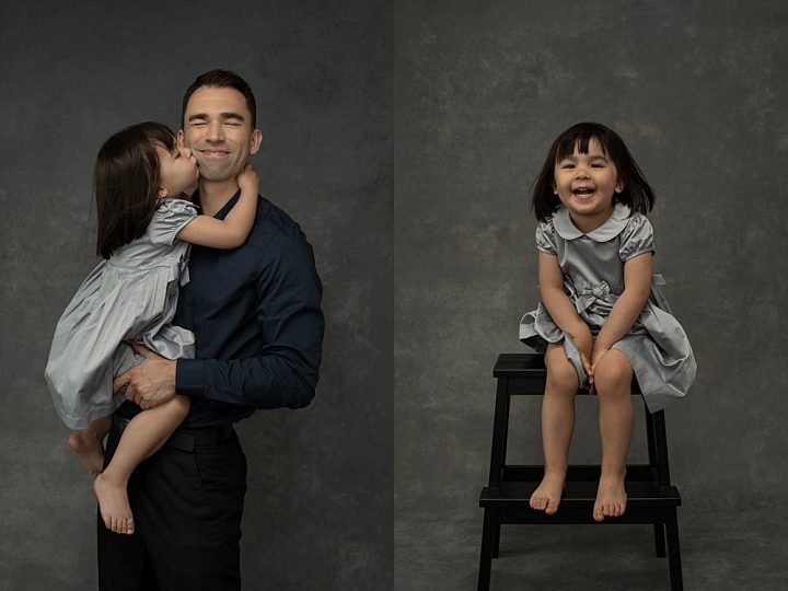 NH family portraits - father and daughter