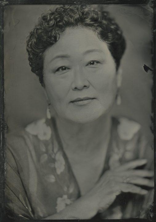 Tintype portrait of Jean