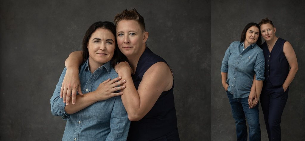 Casual anniversary portraits